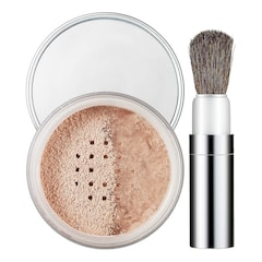 Blended Face Powder and Brush - Pudra libera transparenta, CLINIQUE