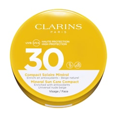 Mineral Sun Care Compact for Face UVA/UVB 30 - Fluid mineral, CLARINS