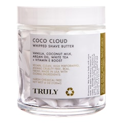 Coco Cloud Whipped Shave Butter - Unt hidratant inainte de epilare, TRULY